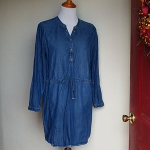 Lucky Brand Chambray shirt dress